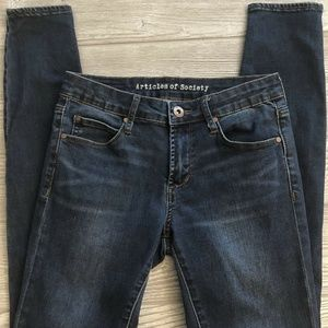 Articles of Society Stretch Skinny Jeans Size 25